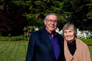 Ed and Vivian Merrin at the Tufts University Packard Society Reception at Gifford House on Saturday, May 22, 2010.