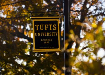 Sign of Tufts University